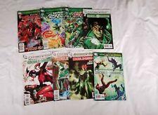8 DC Comics GREEN LANTERN Lot Brightest Day Prologue War Emerald Warriors 2010+