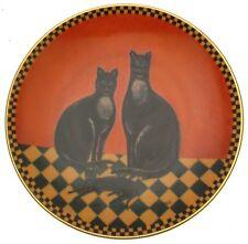 c1995 Lenox Happy Family Cats plate by Warren Kimble CP728