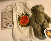 "Bear Essentials 9"" MOHAIR Teddy Bear ""Celadine"" Limited Ed By Barbara Cardwel"