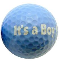 Its a Boy Novelty Golf Ball Perfect Fun Golfing Gag Gift for Golfer New Baby Dad