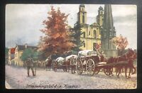 1922 Kaunas Lithuania Picture Postcard Cover To Teufenthal Switzerland Army