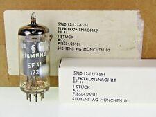 EF41 = 6CJ5 = HF61 = W150 = 7F16 Siemens & Halske Military Röhre Tube NOS NEW