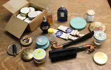 Vintage Compacts Perfume Bottles Dresser Jars Cosmetics Tins Vanity Items