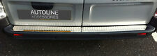 CHROME REAR BUMPER SILL PROTECTOR COVER TRIM FOR RENAULT TRAFIC 2002-14