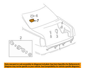 Cadillac GM OEM 2000 Seville Electrical-Housing 12482885