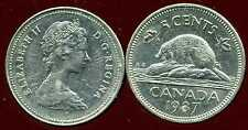 CANADA 5 cents  1987  ANM