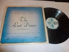 The Last Dance - 1980 UK Motown label 20-track vinyl compilation LP