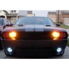 2008-2014 Dodge Challenger Fr Bumper Halo Fog Lamps Angel Eye Driving Lights Kit
