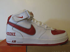 NIKE AIR FORCE 1 MID DA BRONX EDITION SZ 11.5 JORDAN KOBE LEBRON