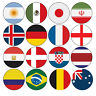 PRECUT World Cup Football Flag Party Pack Cupcake Toppers Cake Decorations