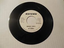 Joe Harnell Midnight Cowby 45 Motown White Label Promo M-1154 Rare Soul