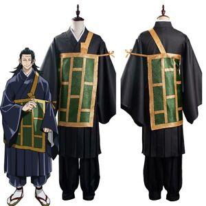 Anime Jujutsu Kaisen Suguru Getou Cosplay Costume Kimono Outfit Full Set