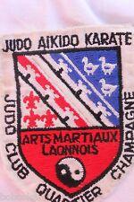 Insigne tissus Judo Club quartier Champagne