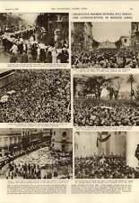 1952 Argentina Mourns Eva Peron Franz Von Papen
