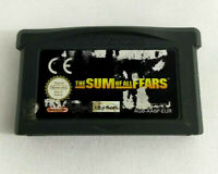 Jeu Game Boy Advance GBA en loose  The Sum of all Fears  EUR  Envoi rapide suivi