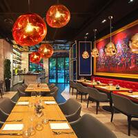Retro Industrial Lava Chandelier Pendant Light Ceiling Lamp Dinning Room Bar