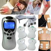 New 4 Pads Full Body Massager Pulse Slimming Muscle Relax Electric Slim Massage