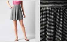 NWOT ANN TAYLOR LOFT Full Horizontal Striped Skirt   XL   $40 Black