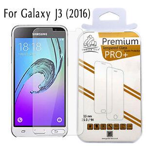 For Samsung Galaxy J3 Screen Protector Genuine Gorilla Tech Tempered Glass