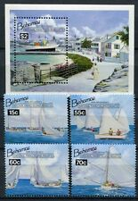 Bahamas 1994 Segelschiffe Regatta Sailing Ships 834-837 Block 73 Postfrisch MNH