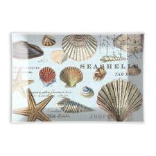 Michel Design Works Glass Trinket / Soap Dish Seashells - NEW