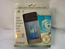 Syba IEEE 13941 Firewire CardBus Card 2 Ports New in Box