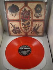 """ALCOA Thank You 12"""" Vinyl LP Clear Red w/ etching B9 Records 2014 DEFEATER /200"""
