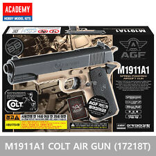 ACADEMY Colt M1911A1 TAN Airsoft BB Toy Gun 6mm / 20mm Rail Interface System