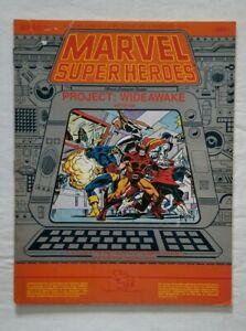 MARVEL SUPERHEROES TSR R.P.G. PROJECT WIDEAWAKE JEFF GRUB KERRY GAMMILL X-MEN