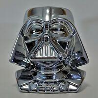 Vintage Star Wars Darth Vader Metalized Figural Mug Applause 1997