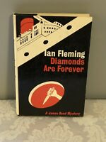 DIAMONDS ARE FOREVER by Ian Fleming, MacMillan 2nd US Trade Ptg, Jacket by Kuhl