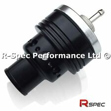 25mm Stealth Black Compact Single Piston Turbo Dump Valve BOV - Fully Adjustable