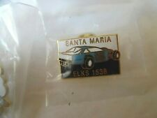 Lot Of 14 Elks Pins Santa Maria #1538 - Race Car 68