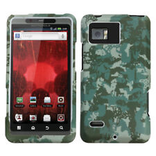 For XT875 Droid Bionic Lizzo Digital Camo/Green Phone Protector Cover
