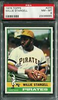 1976 Topps #270 Willie Stargell PSA 8 NM-MT