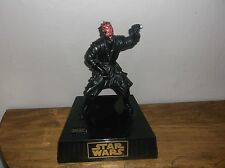 collectible Star Wars Darth Maul animated talking, moving coin bank