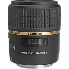 New TAMRON SP AF 60mm f/2 Di II MACRO Lens [G005] - Canon EF
