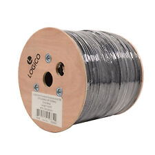 Cat5e 1000FT UTP Ethernet Cable Outdoor Direct Burial Gel Flood 24AWG BareCopper