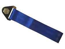 Blue tow strap - race track road off road