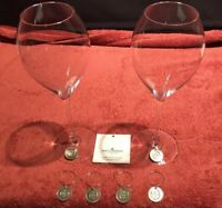 Moet & Chandon Champagne - Wine Glass Charms X 6