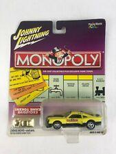 JOHNNY LIGHTNING Monopoly Atlantic Ave. '75 Mustang Cobra II  Golden Game Token