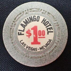 Vintage Flamingo Hotel $1 Casino Poker Chip Las Vegas Nevada