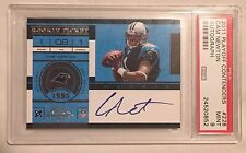 Cam Newton Panthers 2011 Playoff Contenders #228A Rookie Ticket rC PSA 9 Auto