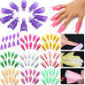 10PCS Plastic Nail Soak Off UV Gel Art Polish Remover Wrap Gelish Clip Cap Sale