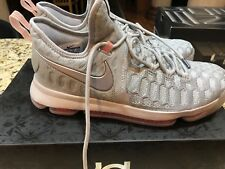 Kevin Durant ZOOM KD 9 LMTD Cool Grey/PINK Size 9.5