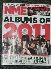 NME - MUSIC MAGAZINE - 15 JANUARY 2011 - ALBUMS OF 2011. THE STROKES. RADIOHEAD