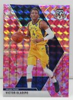 Victor Oladipo 2019-20 CAMO PINK MOSAIC Veterans Prizm Card #145 Indiana Pacers