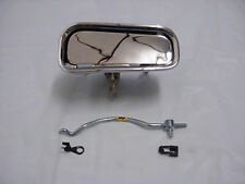 1969-1982 Corvette RH Outside Door HANDLE with ROD Upper and Lower Clip included