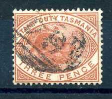 TASMANIA - 1880 - Timbres Fiscaux - Postaux. Ornithorynque. S2002
