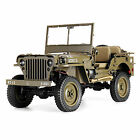 ROCHOBBY 1/6 2.4G 2CH 1941 Willys SCALER RC Jeep Waterproof Radio Controlled Car